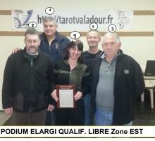 2015 – Qualif LIBRE ZONE EST 030