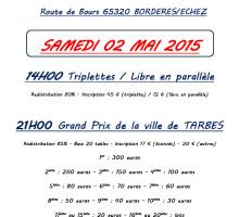 2015 – GP TARBES – Affiche