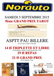 2015 - GP PAU - Affiche -