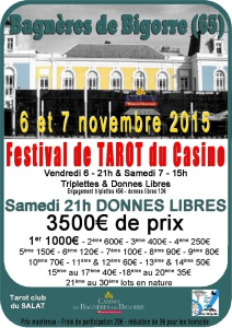 2015 - Festival de Bagnères (Affiche)