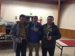 2015 - GP ST PIERRE - Photo Triplette Vainqueur