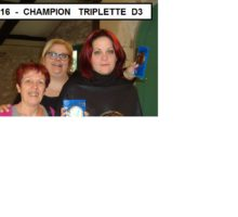 2016 – TD3 – Equipe Championne