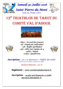 2016 - TRIATHLON Comité (Affiche)
