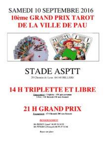 2016 - GP de PAU - (Affiche)