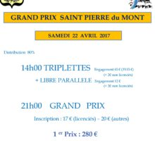 2017 – GP Saint PIERRE (Affiche)