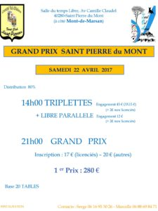 2017 - GP Saint PIERRE (Affiche)