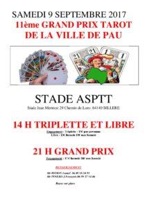 2017 - GP de PAU (affiche)