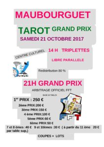 2017 - GP Maubourguet (affiche)