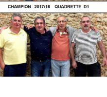 2017 – QD1 – Photo vainqueurs