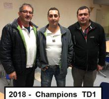 2018 – Qualif TD1 – Photo Vainqueurs