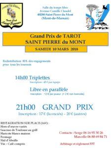 2017 - GP St PIERRE - Affiche