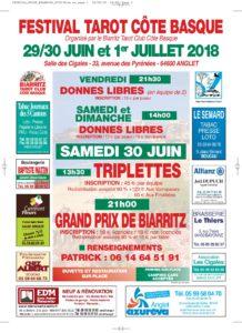 2018 - GP BIARRITZ (Affiche)