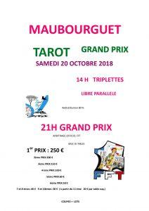 2018 - GP Maubourguet - Affiche