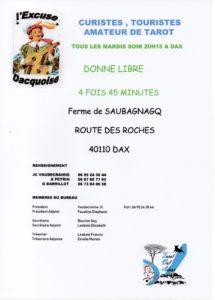 2018 - Dax - Affiche permanente