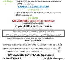 2019 – GP VIC-FEZENSAC – (Affiche