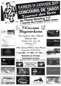 2019 - Tarbes Tournois des ROIS (Affiche)
