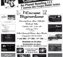 2019 – Tarbes Tournois des ROIS (Affiche)
