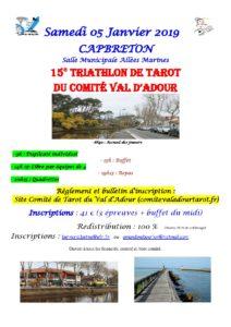 2019 - Triathlon du Comité (Affiche)