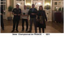 2019 – 3ème Championnat de France QD1
