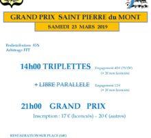 2019 – GP de St PIERRE (Affiche)