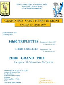 2019 - GP de St Pierre du Mont