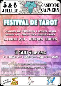 2019 - 1er FESTIVAL du casino de CAPVERN - Affiche