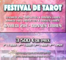 2019 – 1er FESTIVAL du casino de CAPVERN – Affiche