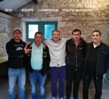 2019 – Coupe de France – Photo Vainqueurs