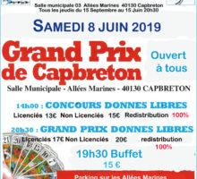 2019 – GP de CAPBRETON (Affiche2)