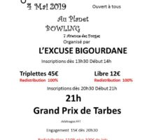 2019 – GP de Tarbes (Affiche)