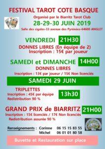 2019 - GP Biarritz - Affiche