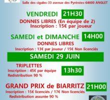 2019 – GP Biarritz – Affiche