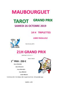 2019 - GP Maubourguet (Affiche)