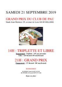 2019 - GP de Pau (Affiche)