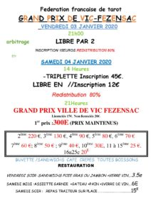 2020 - GP de VIC - (Affiche)
