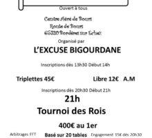 2020 – Tournoi des Rois – Tarbes – (Affiche)