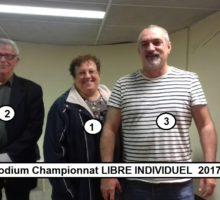 2017 – Qualif Libre Individuel – Podium