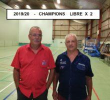 2019 – Qualif. LIBRE X 2 – Photo Vainqueur