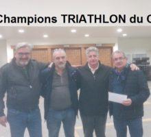 2019 – Champions TRIATHLON COMITÉ
